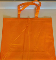 "Large Tote Bag (Orange) 20""W x 16""H x 6""D"