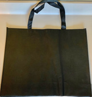 "Large Tote Bags (Black) 20""W x 16""H x 6""D"