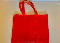 "Medium Tote Bag (Red) 16""W x 12""H x 6""D"