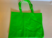 "Medium Tote Bag (Green) 16""W x 12""H x 6""D"