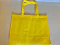 "Medium Tote Bag (Yellow) 16""W x 12""H x 6""D"