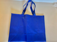 "Medium Tote Bag (Royal Blue) 16""W x 12""H x 6""D"