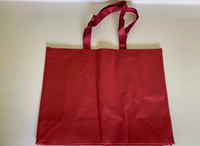 "Medium Tote Bag (Burgundy) 16""W x 12""H x 6""D"