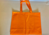 "Medium Tote Bag (Orange) 16""W x 12""H x 6""D"