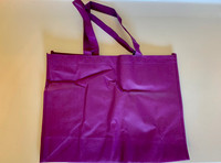 "Medium Tote Bag (Purple) 16""W x 12""H x 6""D"