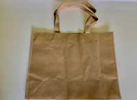 "Medium Tote Bag (Khaki) 16""W x 12""H x 6""D"