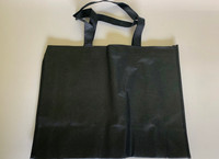"Medium Tote Bag (Black) 16""W x 12""H x 6""D"