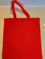 """Non Woven Tote Bag (Red) 13.5""""W x 14.5""""H"""