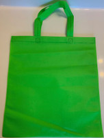 """Non Woven Tote Bag (Green) 13.5""""W x 14.5""""H"""