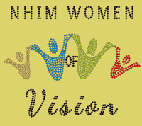 NHIM Women of Vision Rhinestone transfer