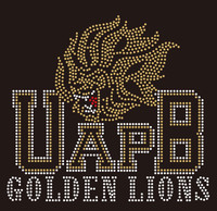 UAPB Golden Lions - Custom Rhinestone transfer