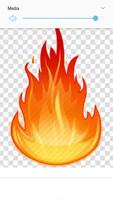 (Deposit for 50 qty @7.99/pc) Follow the Fire GOD - Custom Rhinestone transfer