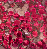 13mm Nailhead Red Round 500 pc Loose Hot fix