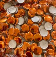 13mm Nailhead Round Orange 500 pc Loose Hot fix