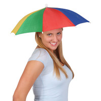 Umbrella Hat, Hands free (Color) Portable Fishing Camping beach funny Gardening, Outdoor Hiking, sun and rain protection