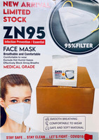 ZN95 Mask Infection Prevention Breathable and Comfortable (1 Qty)