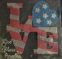 Love BasketBall with girl Rhinestone Transfer Iron on - Texas Rhinestone 800b814de977