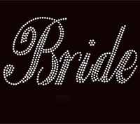 Bride Rhinestone Transfer Iron on