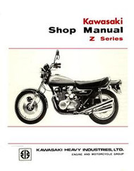 Kawasaki Z1 Service Manual