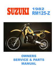 1982 Suzuki RM125Z Manual