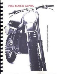 1982 Maico Alpha Shop Manual