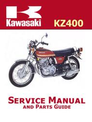 1974-78 Kawasaki KZ400 Service Manual