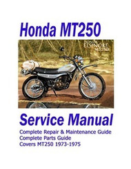 Honda Elsinore MT250 Service Manual
