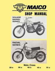 Maico Square/Radial Motors Shop Manual