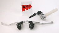 Magura Forged Levers & Whirlpull Throttle