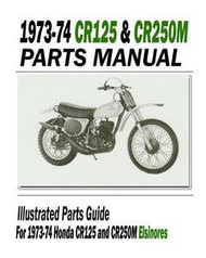 1973-74 Honda Elsinore Parts Manual & Service Bulletins