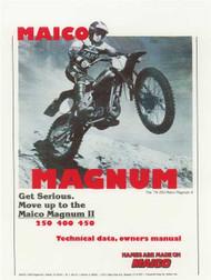 78/79 Maico Magnum Shop Manual