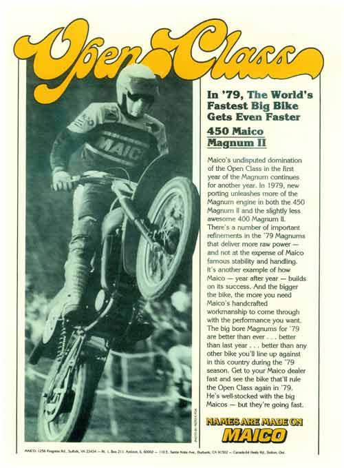 78 79 Maico Magnum Shop Manual