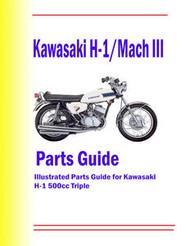 Kawasaki H1-500 Triple Parts Manual