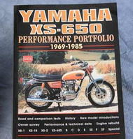 Yamaha XS650 Performance Test Reviews Book