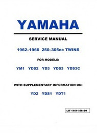 Yamaha 250/305 Twins YDS3 YM1 YDS Service Manual