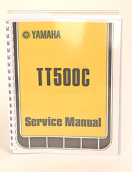 Yamaha TT500 Service Manual