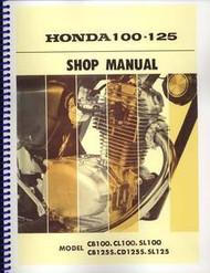 Honda CB/SL100 SL125 Shop Manual
