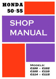 Honda 50/55 Shop Manual