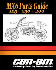 Can-Am MX-6 Parts Manual