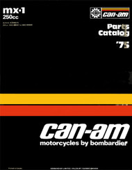Can-Am MX-1 Parts Guide