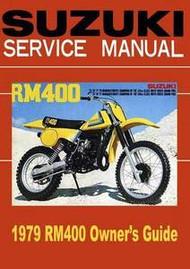 1979 Suzuki RM400 Service Manual