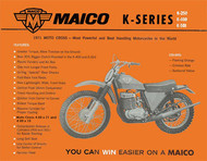 1971 Maico Square Barrel Service Manual