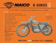 1971 Maico Square Barrel Service Manual