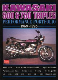 Kawasaki 500/750 Triples Test Review Book