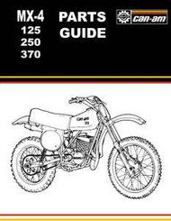 Can-Am MX-4 Parts Guide
