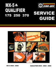 1979 Can-Am MX-5 & Qualfier Shop Manual