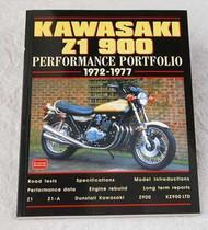 Kawasaki Z1 Test Review Book