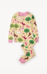 Hatley Pony Orchard Organic Cotton Pyjama Set size 10 only