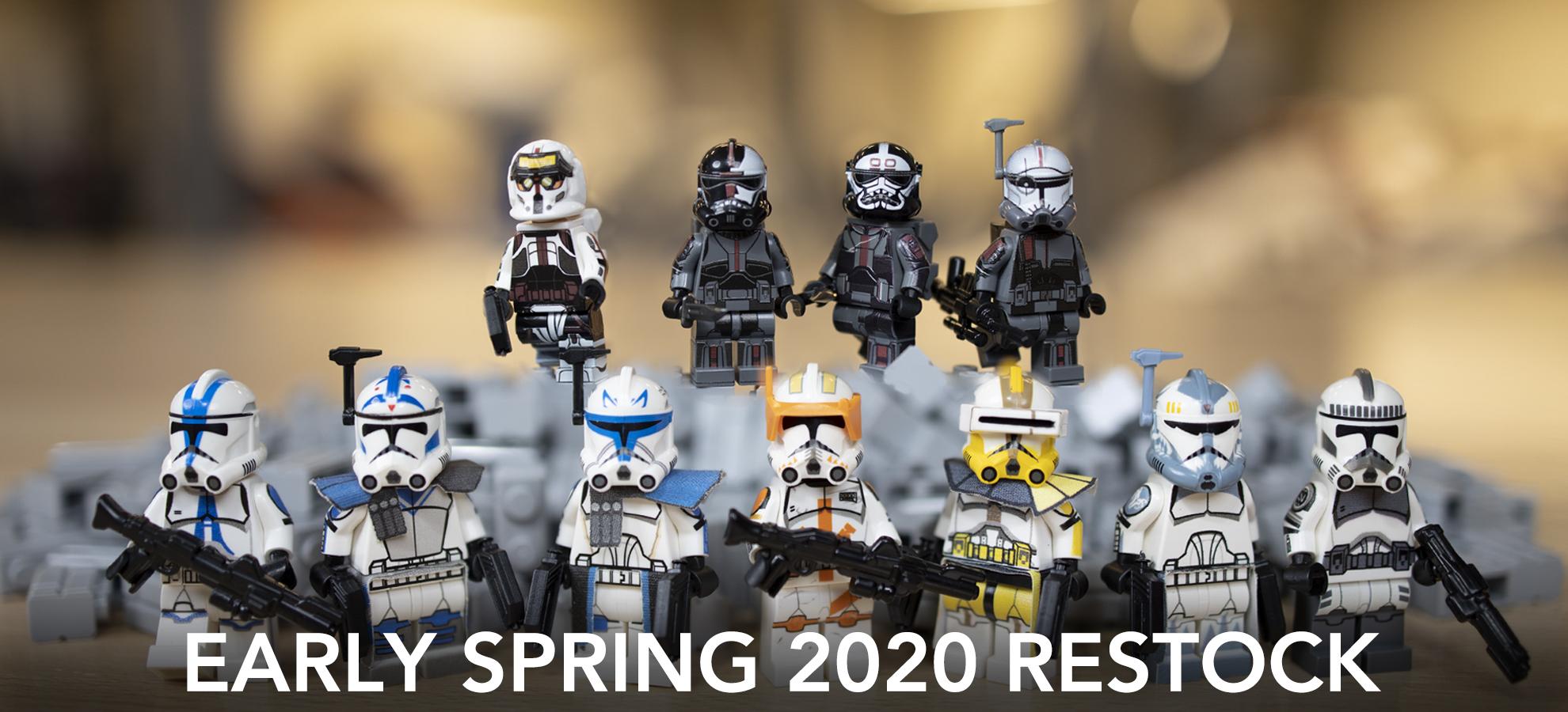 Lego Compatible Star Wars 5 x Stormtrooper Minifigures New