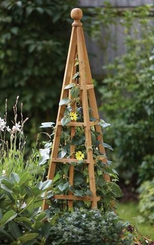 Wooden Obelisks Mr Middleton Garden Shop
